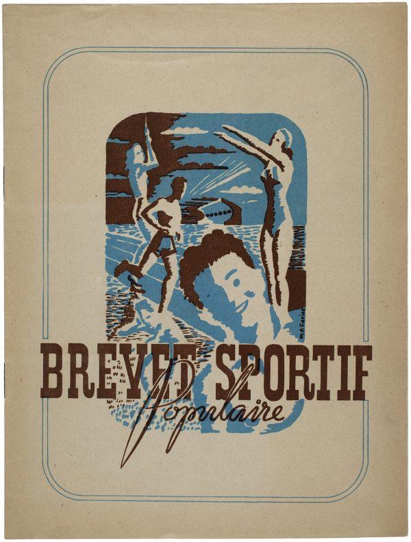 Brevet sportif populaire, Direction générale de l'éducation physique et des sports, 1947