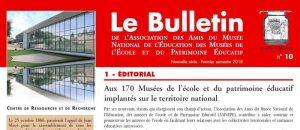 Bulletin de l'amnepe n°10