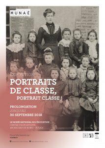 Portraits de classe, portrait classe ! une exposition du MUNAÉ sur la photographie scolaire