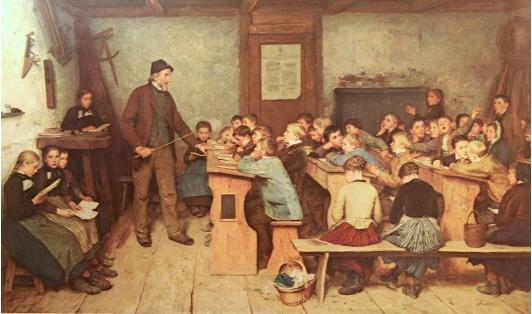 École dans la Loire d'hier à Aujourd'hui