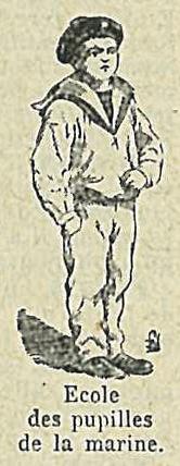 Dictionnaire Larousse 1932 - Ecoles - Ecole des pupilles de la marine
