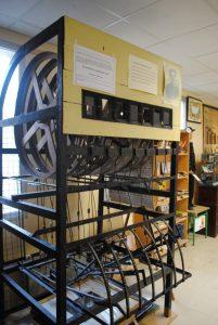Machine à apprendre à lire - Musée de l'école d'autrefois - L'Isle sur la Sorgue