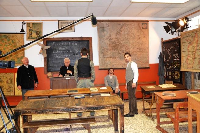 Musée de l'école d'autrefois - L'Isle sur la Sorgue - Tournage