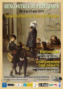 3 siècles d'histoire de l'école et de l'éducation au musée de l'école d'autrefois – Isle sur la Sorgue