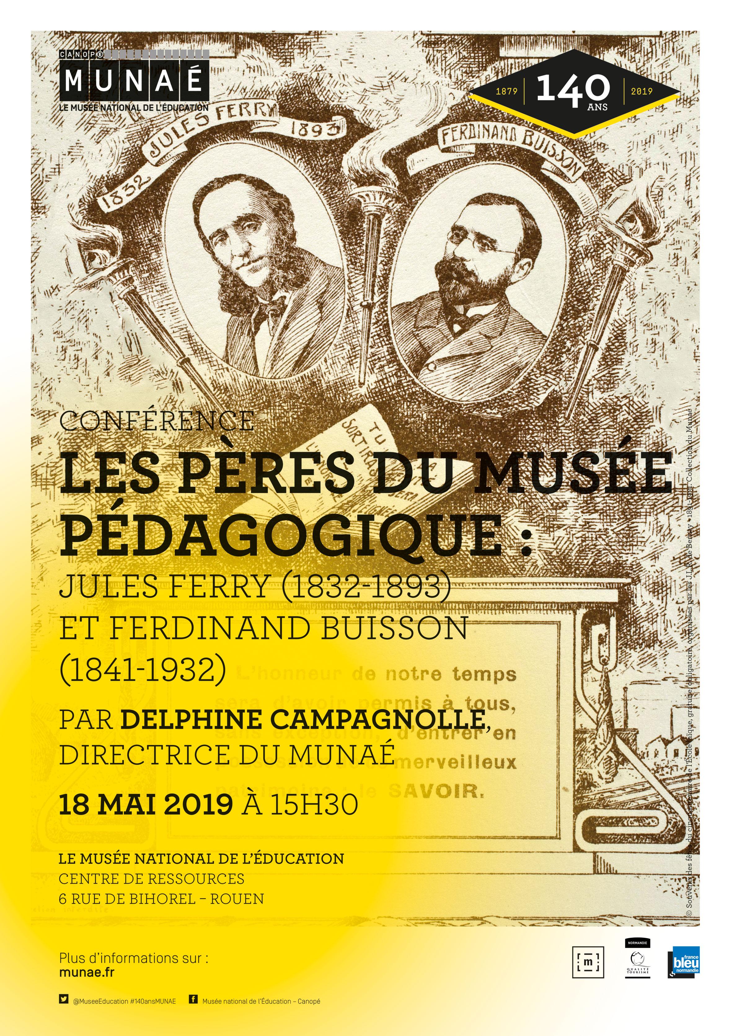 Les pères du Musée pédagogique, Jules Ferry et Ferdinand Buisson
