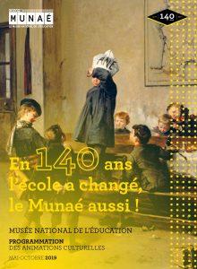 En 140 ans l'école a changé, le Munaé aussi !