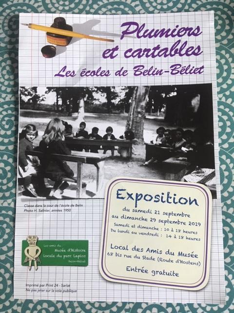 Plumiers et cartables (écoles de Belin-Béliet)
