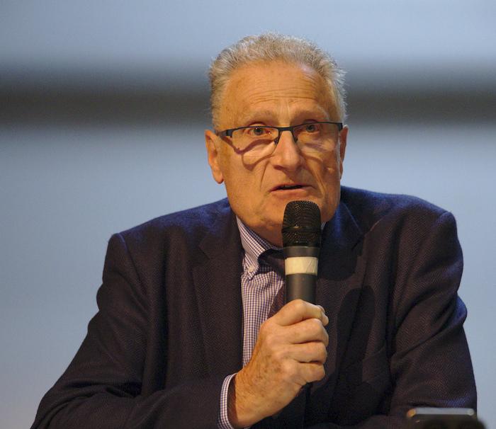 Paul Stouder, membre de l'association Musée de l'éducation du Val d'Oise, IA-IPR Honoraire d'histoire-Géographie