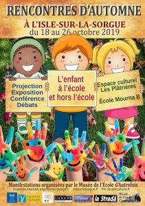 Read more about the article Rencontres d'automne à l'Isle sur la Sorgue
