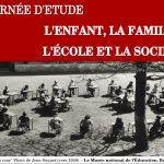 Ouverture de la journée d'étude «L'enfant, la famille, l'école et la société»