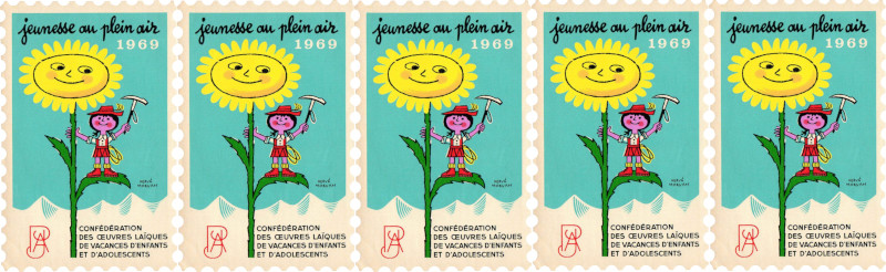 Affiche Jeunesse en plein Air 1969