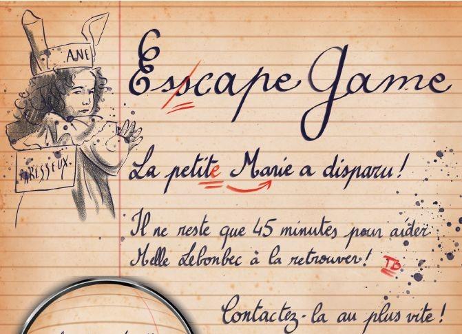 Read more about the article La petite Marie a disparu !