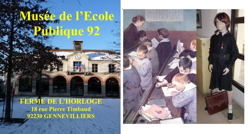 You are currently viewing Musée de l'École Publique 92 – Gennevilliers