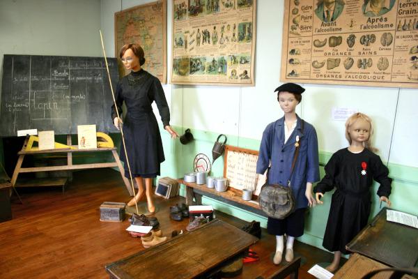 Musée de Laval - Salle de classe