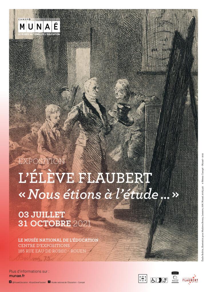 Read more about the article L'élève Flaubert : exposition au Munaé